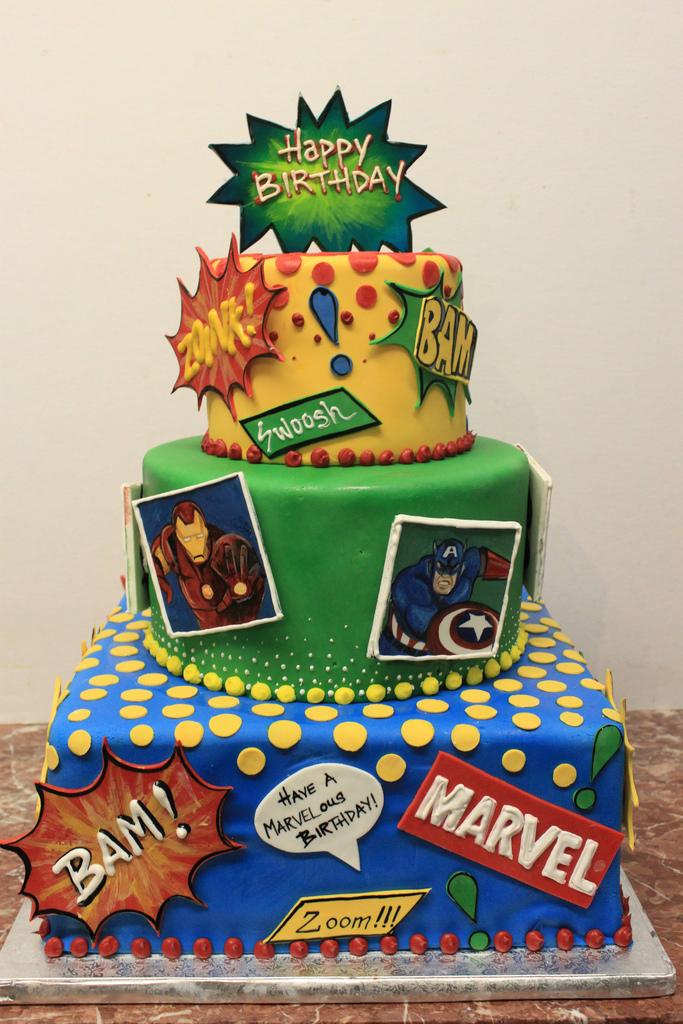 Marvel Avengers Cake Toppers